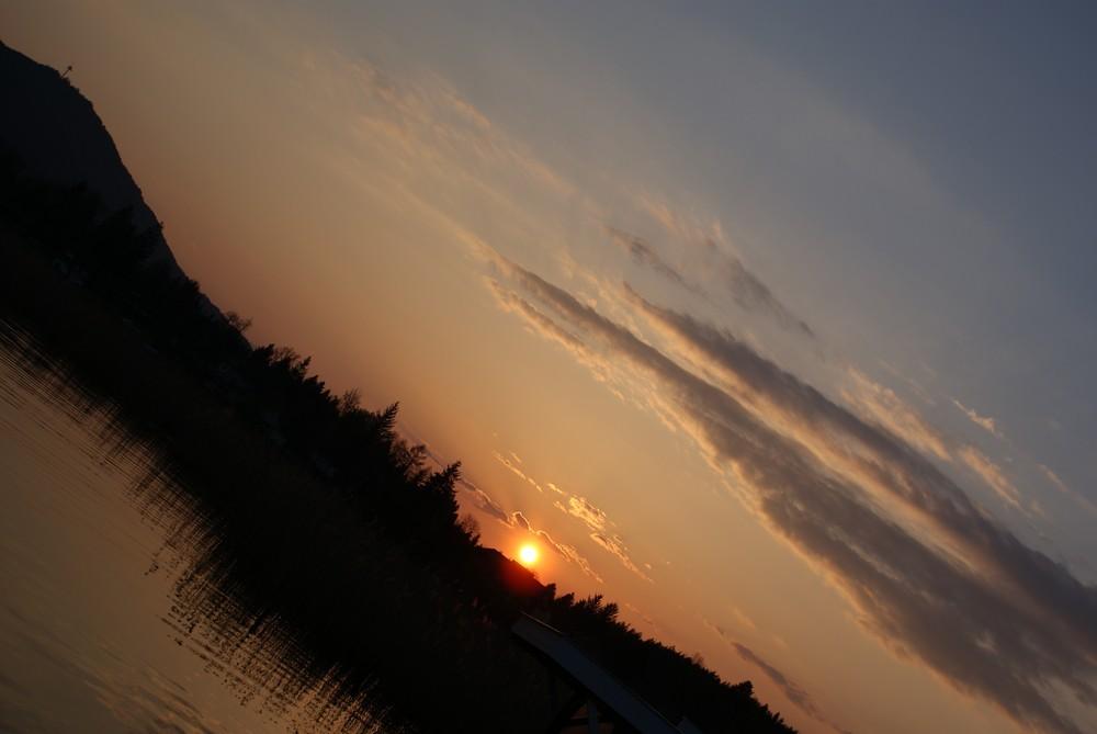 I mecht da Sonnenuntergänge schenkn...