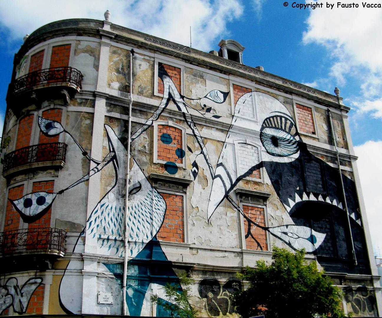 i palazzi di Lisbona