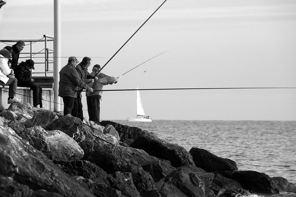 I pescatori e la vela