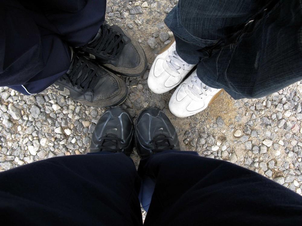 i piedi della vita