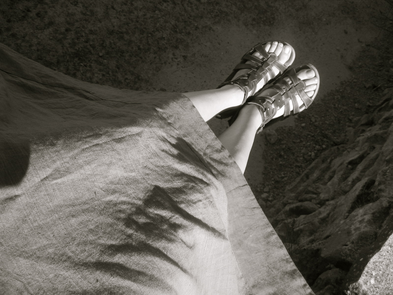 I piedi parlano di te...quanta strada!