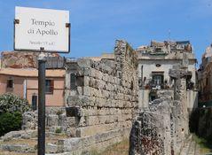 I resti del Tempio di Apollo
