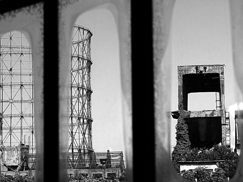 i ruderi della Roma industriale