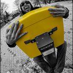 """I simply love my yellow Postkastl"""