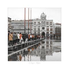 i turisti a Venezia