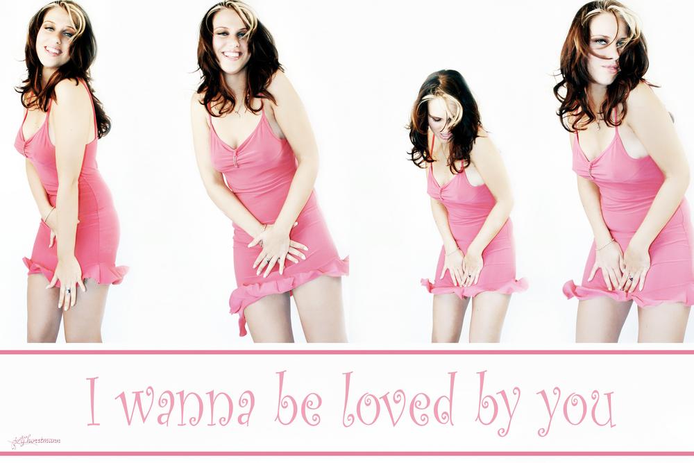 i wanna be.........