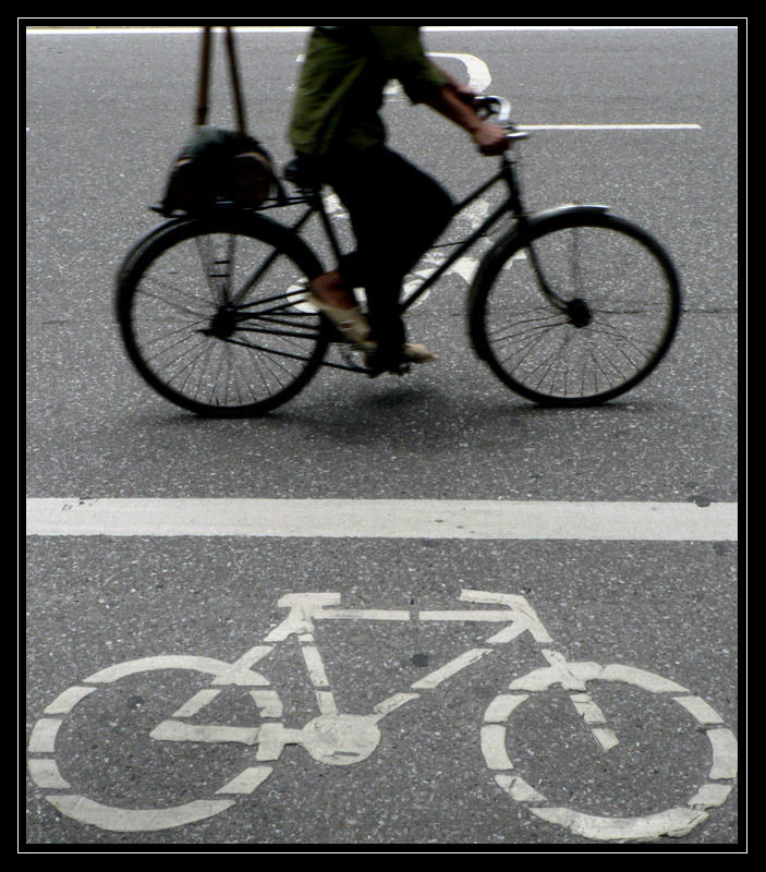 I want to ride my Bike...cycle!