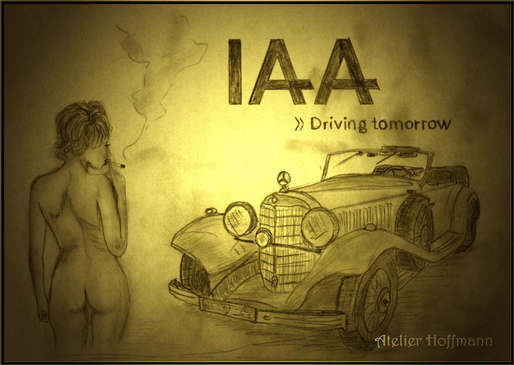IAA-2019...mit qualmenden Akt;-)