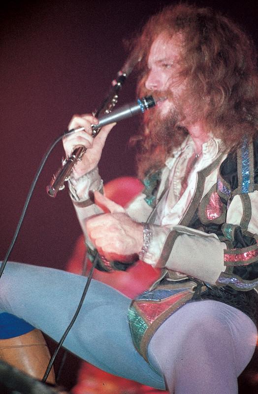 Ian Anderson von Jethro Tull …