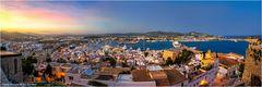 Ibiza Hafen im Spätlicht