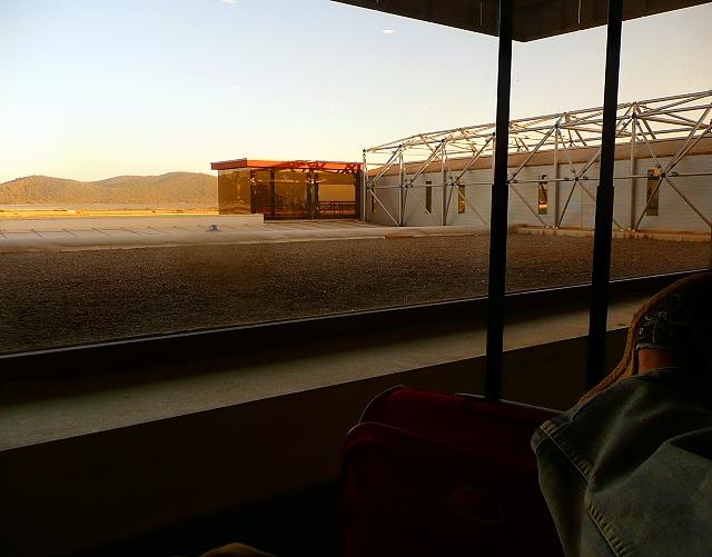 IBZ airport. Waiting.
