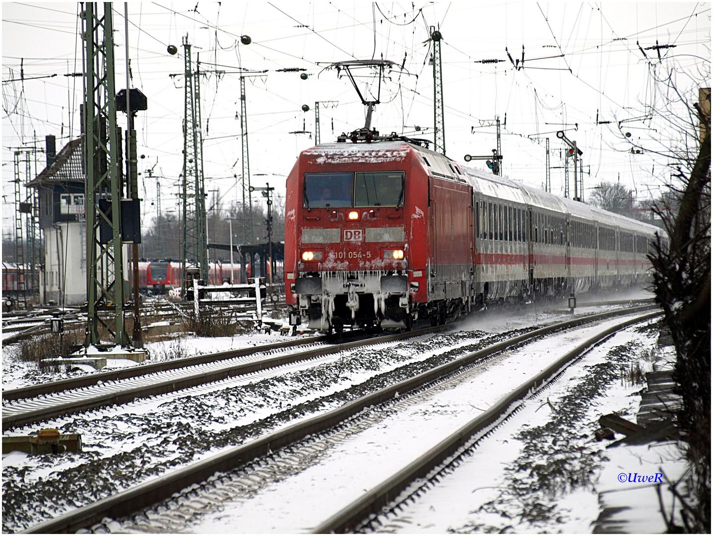 IC nach Hamburg