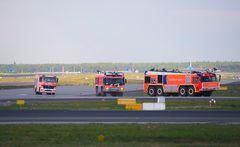 ICAO-Löschzug in Action!