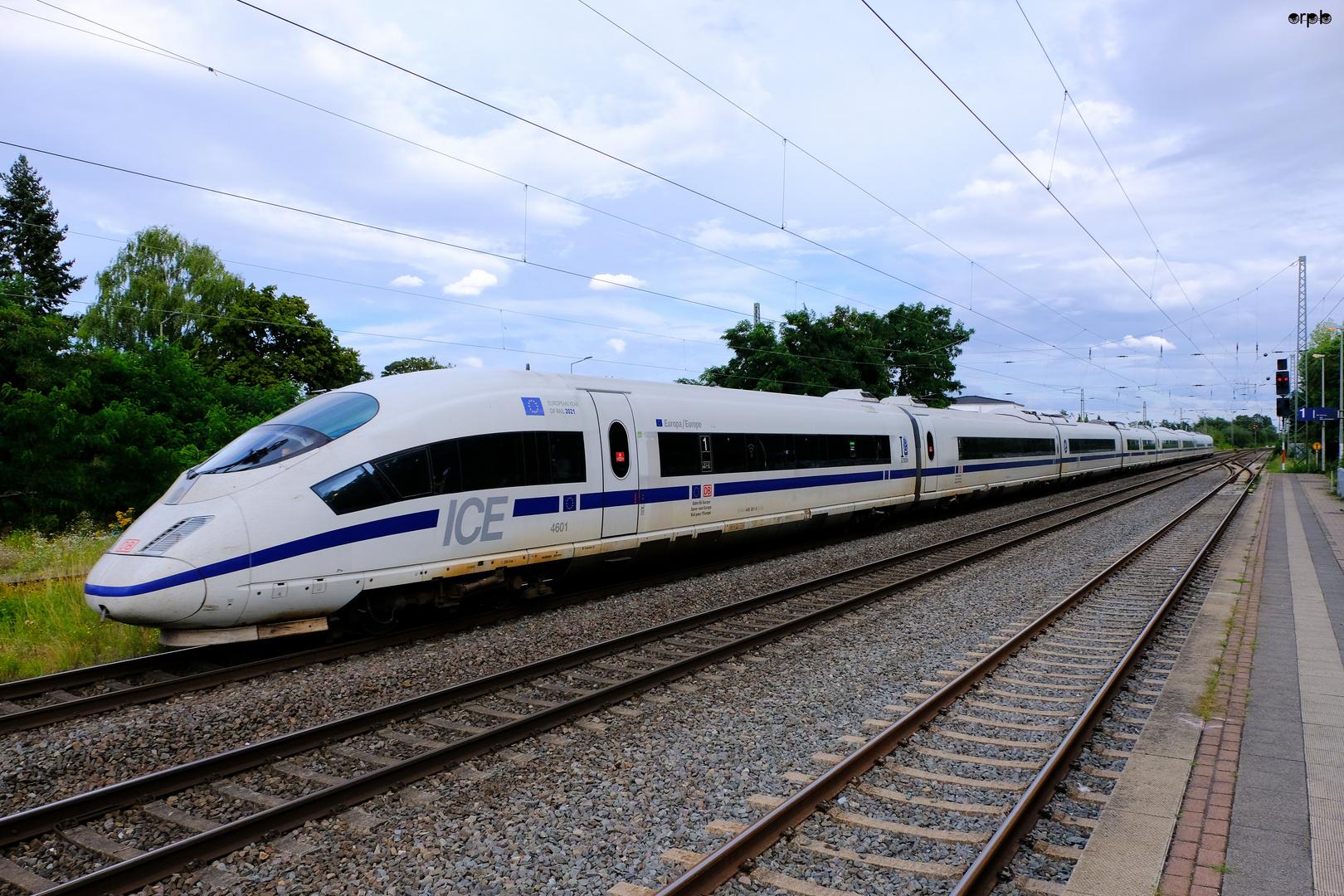 ICE 4601 European Year of Rail 2021