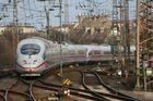 ICE bei der Einfahrt HBF Duisburg