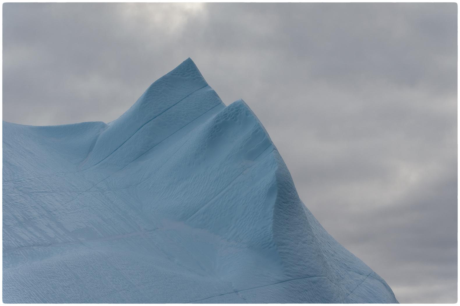 Ice Blue, Silver Sky