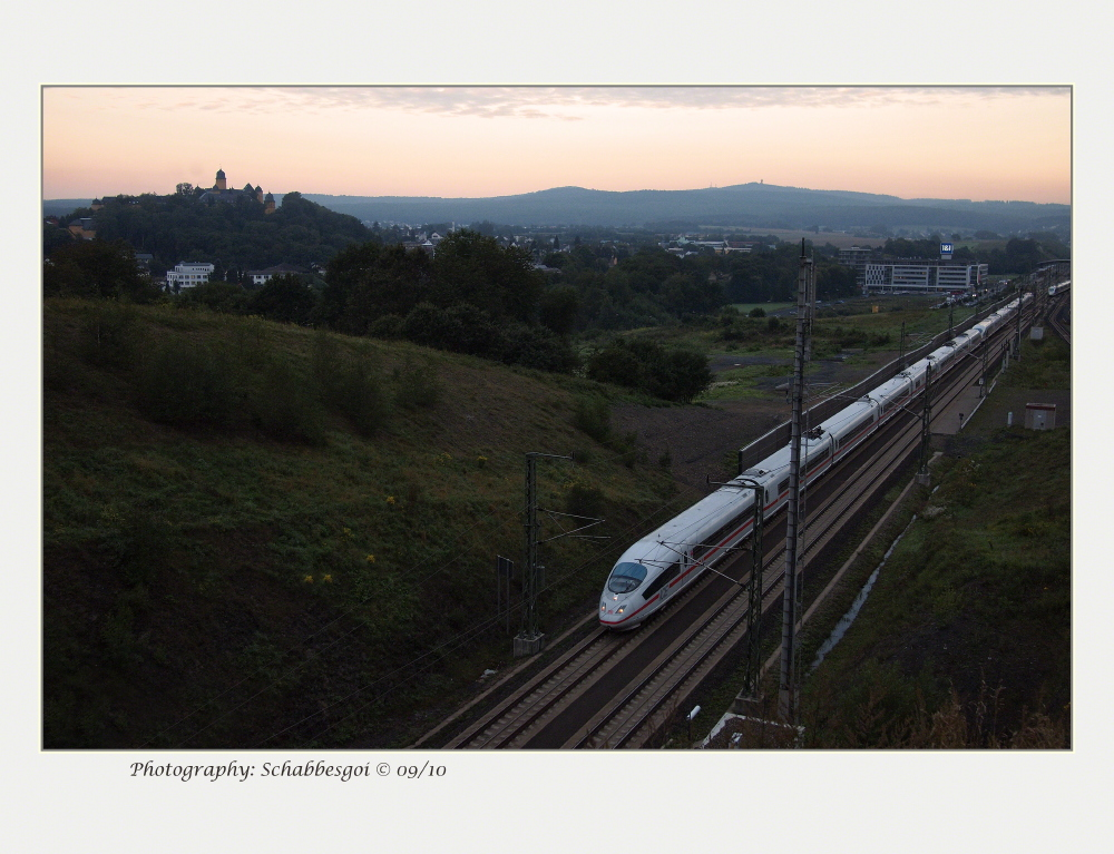 ICE-Doppelzug Frankfurt - Köln