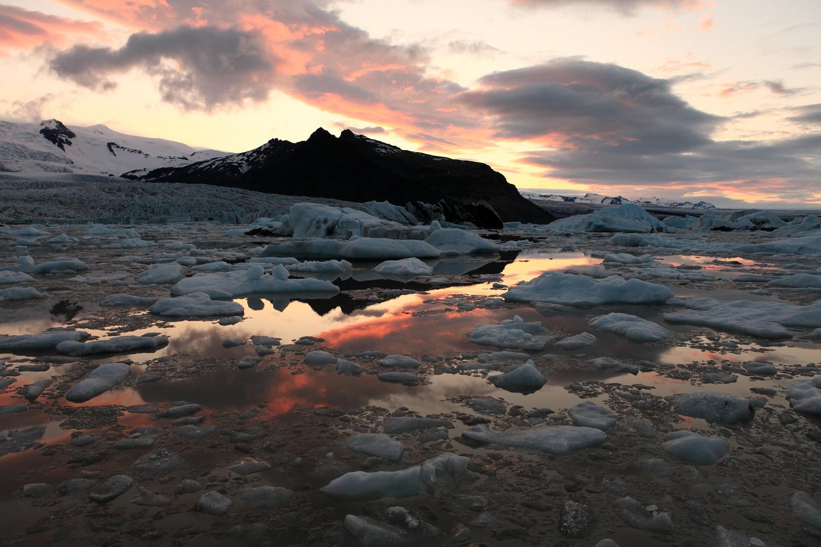 Ice Lakes Breidamerkur