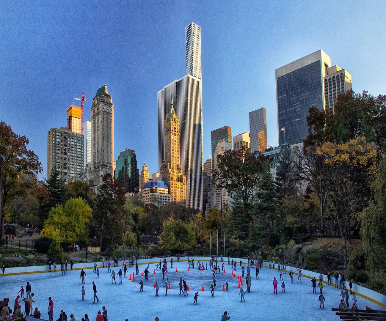 Ice Skating at Central Park