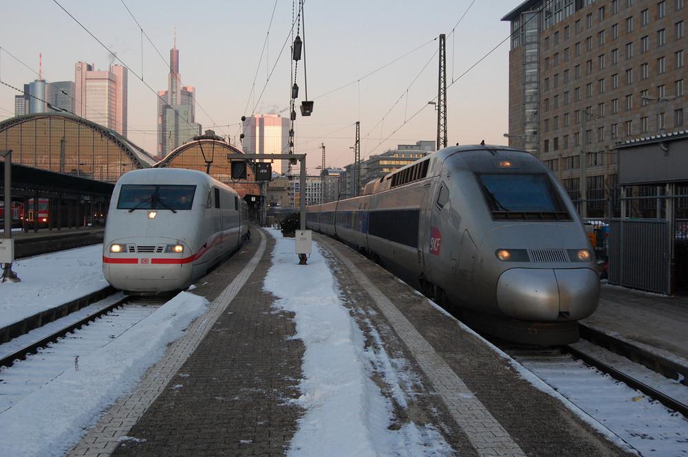 ICE und TGV in Frankfurt II