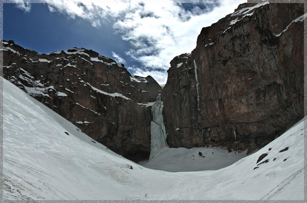 ice waterfall