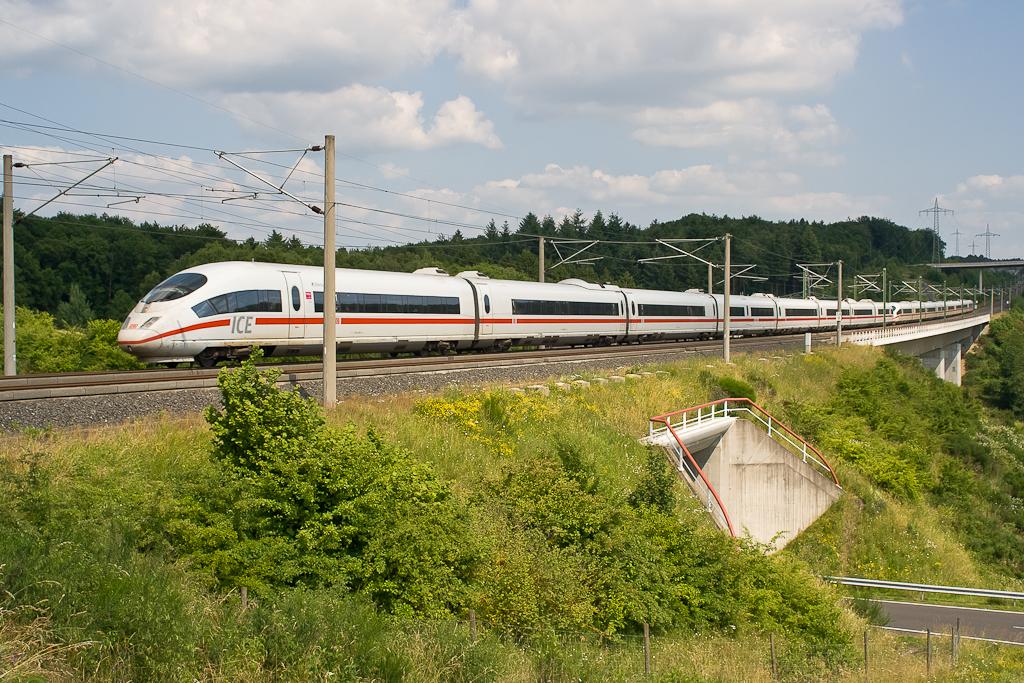 ICE3 auf der NBS Köln/Rhein/Main