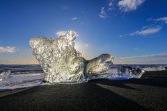 iceberg da spiaggia