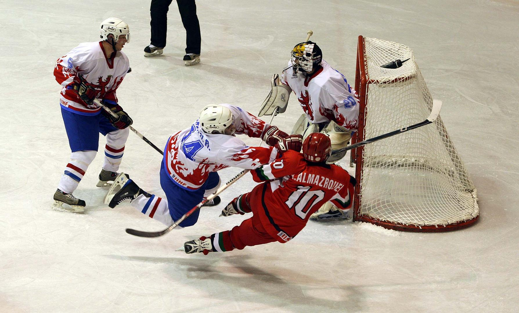 Icehockey oder Boxen