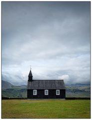 Iceland, Black Church of Budir
