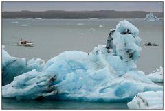"Iceland, Glacier Lagoon ""Jökulsárlón"""
