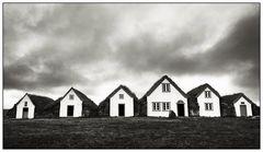 Iceland, Glaumbaer Farm built with Turf