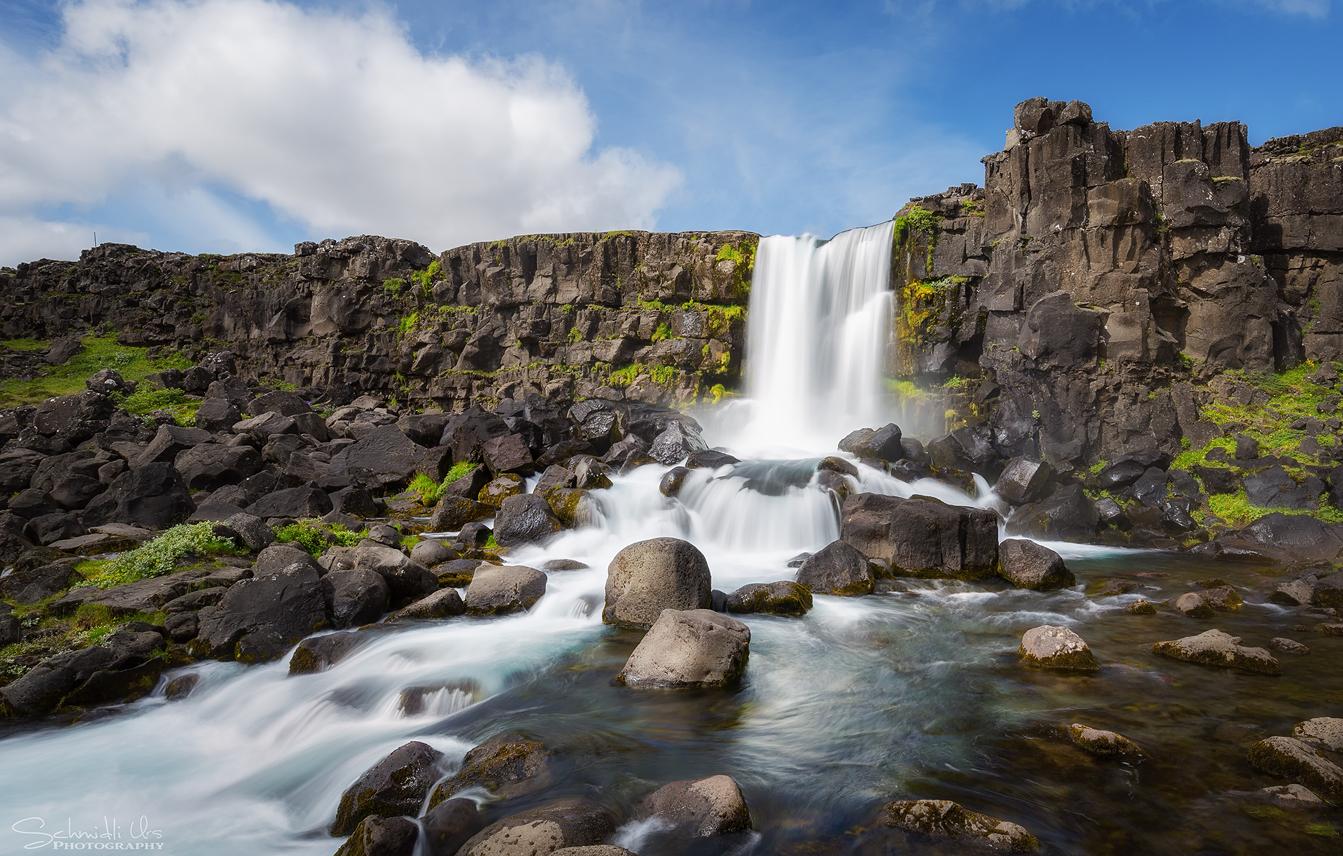 Iceland: Öxarárfoss