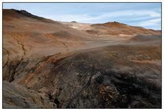 Iceland, Volcano Landscape near Hverarönd (also named Námafjall)