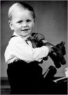 Ich als Knirps. drei Jahre alt.