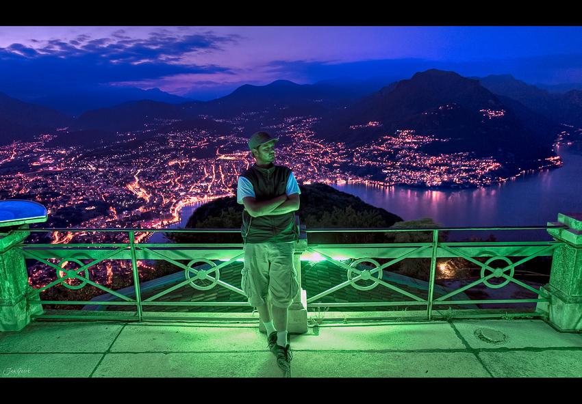 Ich bin der König von Lugano