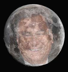 Ich bin manchmal noch hinter dem Mond!...sieht man ja !