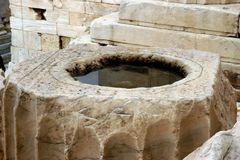 ich geh auf den akropolis-hügel...