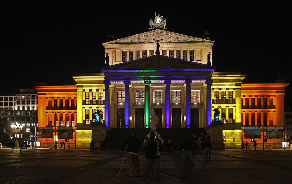 Ich grüße aus Berlin vom Festival of Light