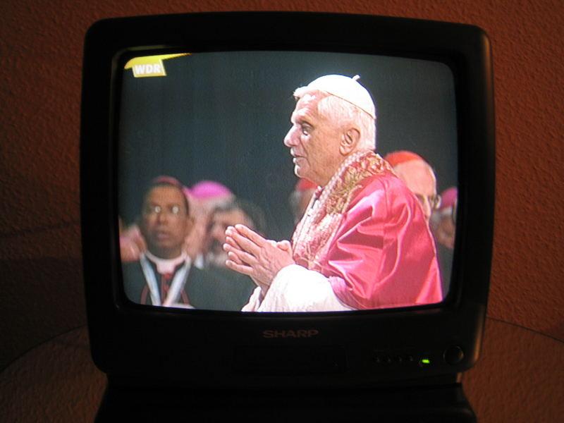 (ich hab' den) Papst gesehen