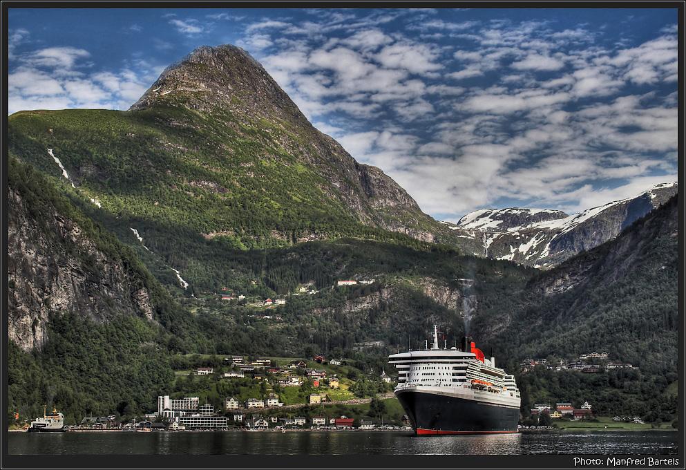 Ich hab schnell eine Fjordtour gebucht....