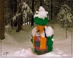Ich hab' vom Schnee die Nase voll ...