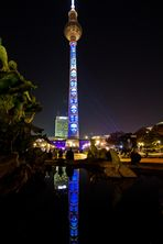 Ich habe gewonnen :-))) Der Fernsehturm im Neptunbrunnen