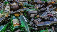 Ich habe sie nicht alle alleine leer getrunken.....!