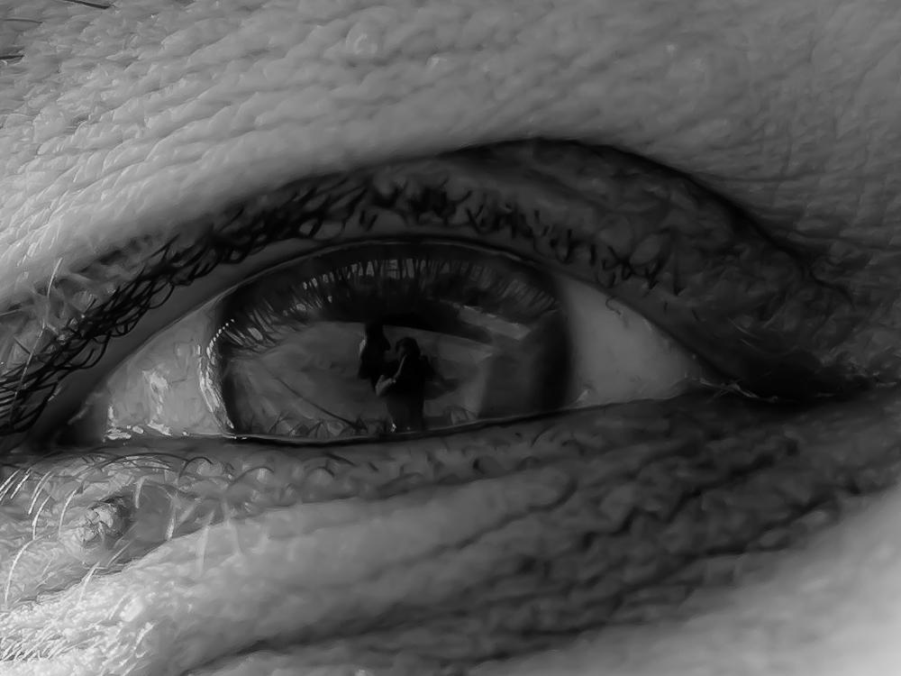 Ich in deinem Auge