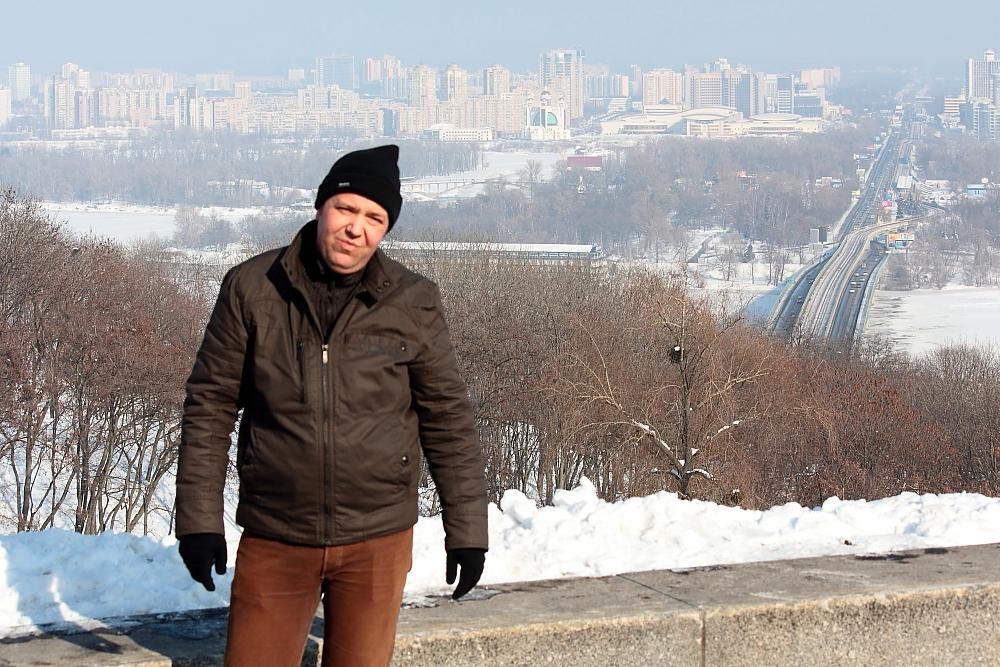 Ich in Kiew