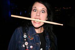 ich liebe den Drummer...