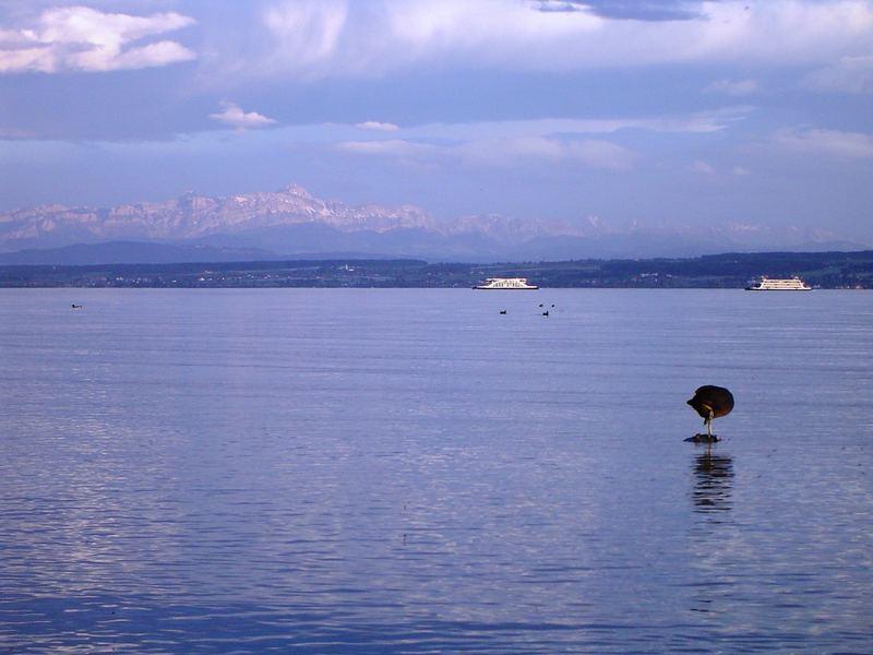 Ich liebe den See...