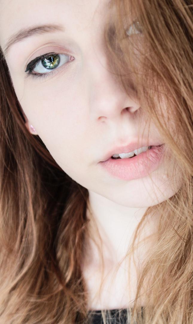 Ich liebe einfach diese Augenfarbe