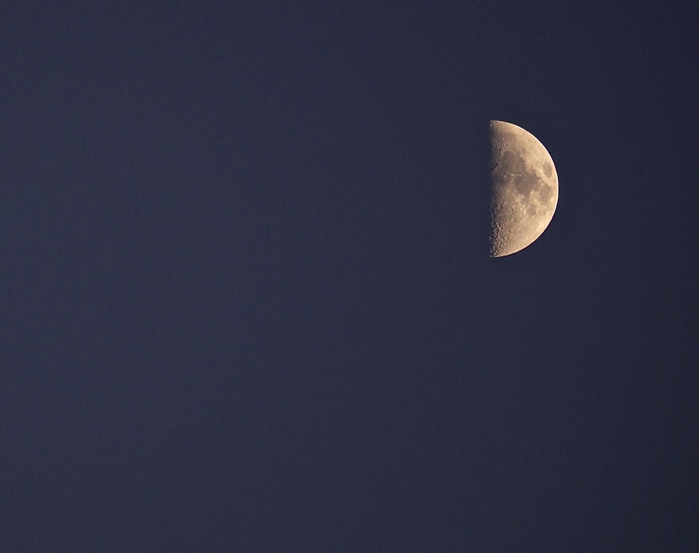 ich mag den Mond :-)