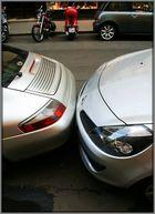 ich sag: Wieso Einparkhilfe wenns doch auch ohne geht!